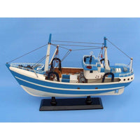 My Parlor Room - Wooden I'm Hooked Model Fishing Boat 19 inch - My Parlor Room