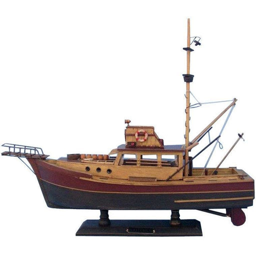 Model Ships - Wooden Jaws Orca Model Boat 20 Inch