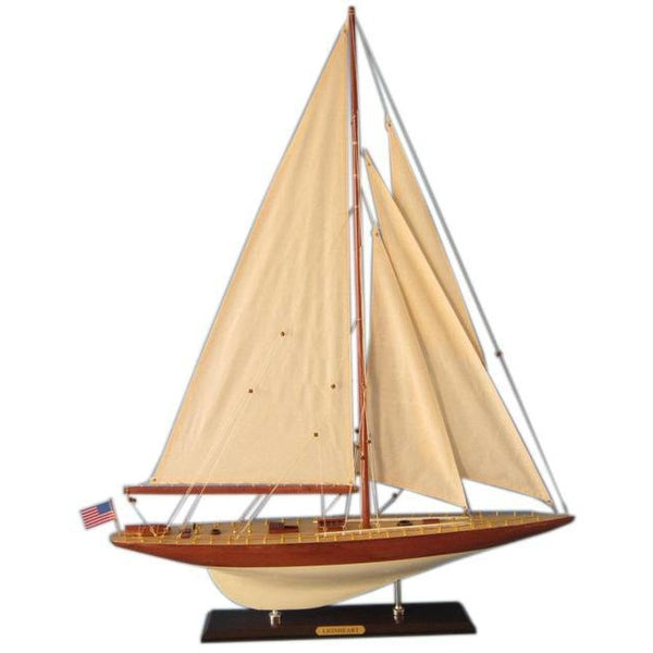 My Parlor Room - Wooden Lionheart Limited Model Sailboat Decoration 35 inch - My Parlor Room