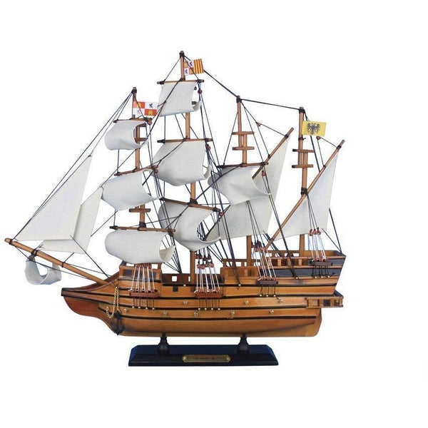 My Parlor Room - Wooden Mel Fisher's Atocha Model Ship 20 inch - My Parlor Room