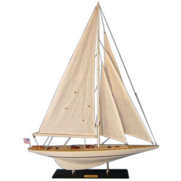 Model Ships - Wooden Rainbow Limited Model Sailboat Decoration 35 Inch