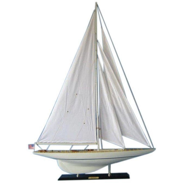 My Parlor Room - Wooden Rainbow Limited Model Sailboat Decoration 50 inch - My Parlor Room