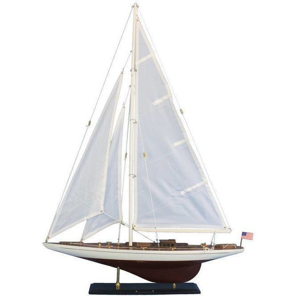 My Parlor Room - Wooden Ranger Model Sailboat Decoration 35 inch - My Parlor Room