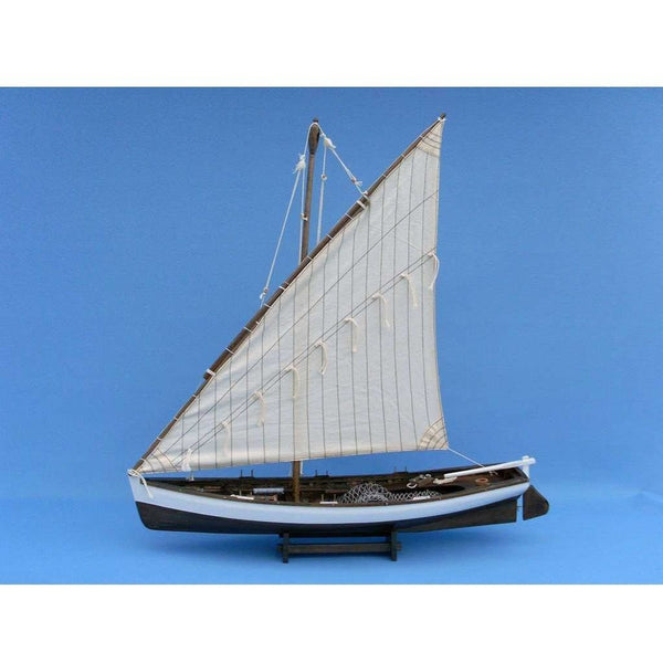 My Parlor Room - Wooden Sailing Away Model Boat 28 inch - My Parlor Room
