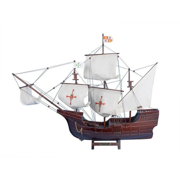 My Parlor Room - Wooden Santa Maria Limited Tall Model Ship 30 inch - My Parlor Room
