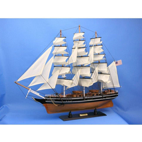 Model Ships - Wooden Star Of India Tall Model Ship 30 Inch