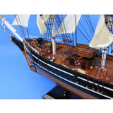 My Parlor Room - Wooden Star Of India Tall Model Ship 30 inch - My Parlor Room