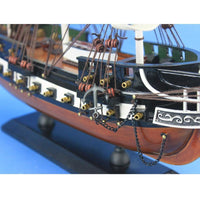 My Parlor Room - Wooden USS Constitution Tall Model Ship 24 inch - My Parlor Room