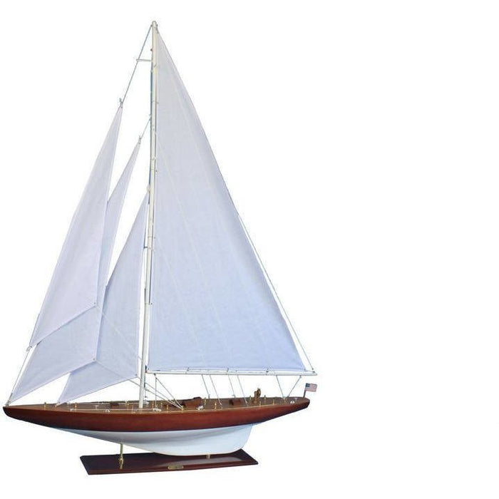 Model Ships - Wooden William Fife Limited Model Sailboat Decoration 60 Inch