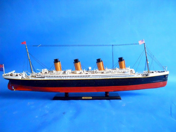 My Parlor Room - RMS Olympic Limited 30 inch Model Cruise Ship - My Parlor Room