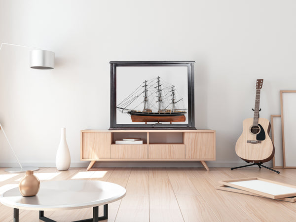 MPROH - Open case for tall ship L60cm No leg New - My Parlor Room