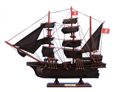 Wooden Henry Avery's The Fancy Model Pirate Ship 20""