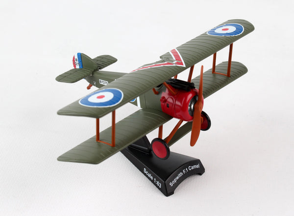 POSTAGE STAMP - SOPWITH F.I CAMEL 1/63 CPT. ARTHUR ROY BROWN - My Parlor Room