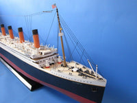 My Parlor Room - Olympic Limited w/ LED Lights Model Cruise Ship 50 inch - My Parlor Room
