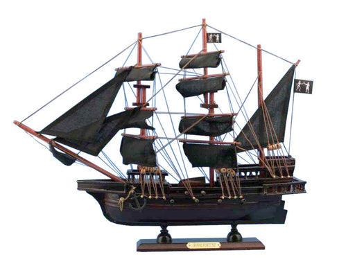 Wooden John Halsey's Charles Pirate Ship Model 20""