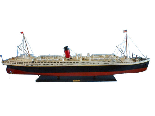 Handcrafted Nautical Decor RMS Scythia Limited Model Cruise Ship - My cruise ship