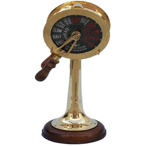 Telegraphs - Brass Titanic Engine Room Telegraph 18 Inches