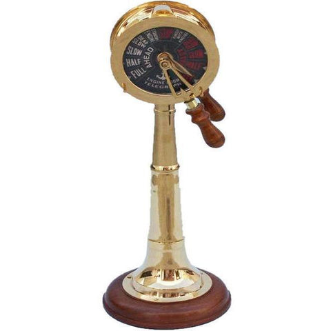 Telegraphs - Brass Titanic Engine Room Telegraph 28 Inches