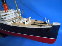 My Parlor Room - RMS Aquitania Limited 50 inch w/ LED Lights Model Cruise Ship - My Parlor Room