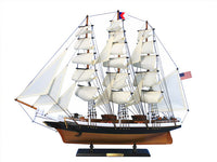 My Parlor Room - Wooden Flying Cloud Tall Model Clipper Ship 30 inch - My Parlor Room