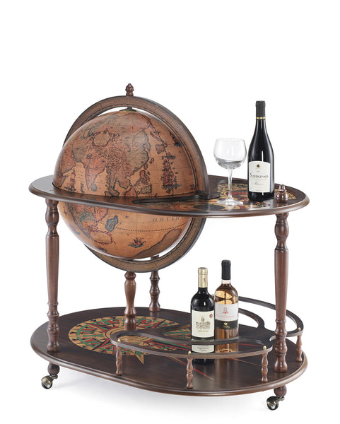 MPR - Artemide Classic Bar Globe Cart - My Parlor Room