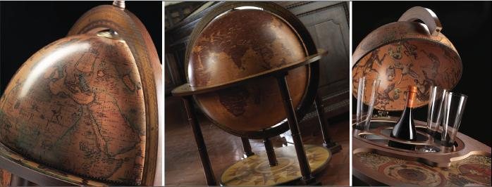 Handcrafted Bar Globes