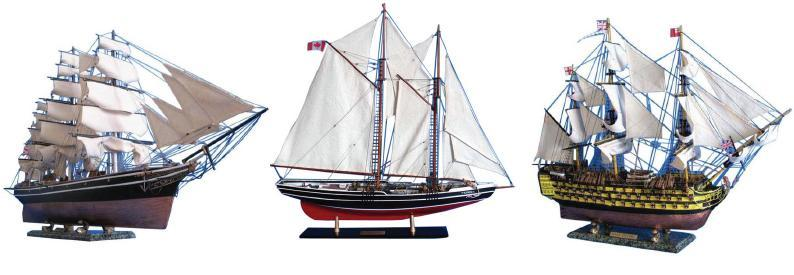 Museum Quality Model Ships
