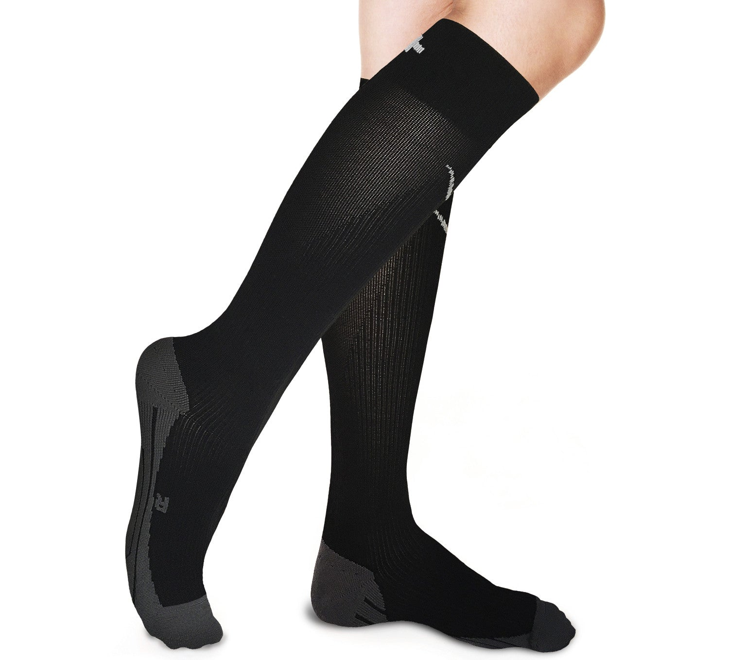 Graduated Compression Socks  - Running, Maternity Pregnancy, Shin Splint, Swollen Legs, Air Flight