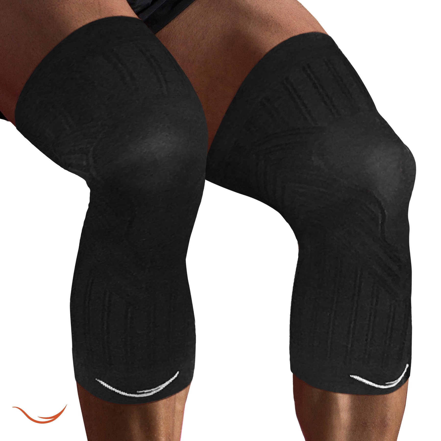 20 - 30 mmhg Graduated Compression Knee Sleeves (1 Pair)