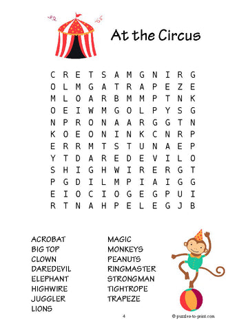 photo regarding Printable Word Search Pdf called 20 Phrase Queries for Little ones - PRINTABLE PDF