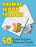 Animal Word Search, Cover