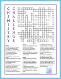 Chemistry Puzzle Bundle - Crossword