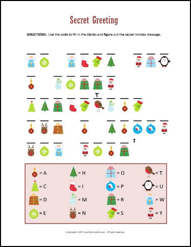 Decisive image throughout holiday puzzles printable