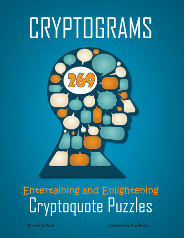 Cryptograms, Volume 2, Cover