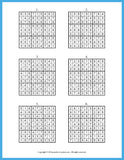Easy Sudoku for You, Sample Solution Page