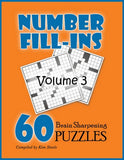 Number Fill In Puzzles, Volume 3 - PRINTABLE PDF