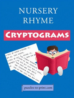 Nursery Rhyme Cryptograms, Cover