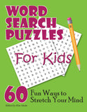 Word Search Puzzles for Kids, Cover
