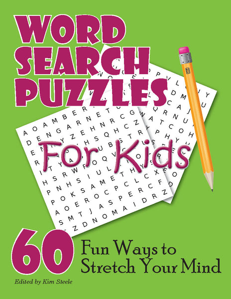 Word Search Puzzles for Kids - PRINTABLE PDF - Puzzles to ...