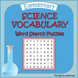 Science Word Search Bundle, Cover