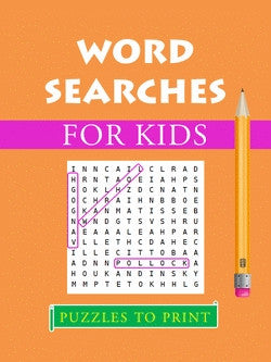 20 Word Searches for Kids - PRINTABLE PDF – Puzzles to Print