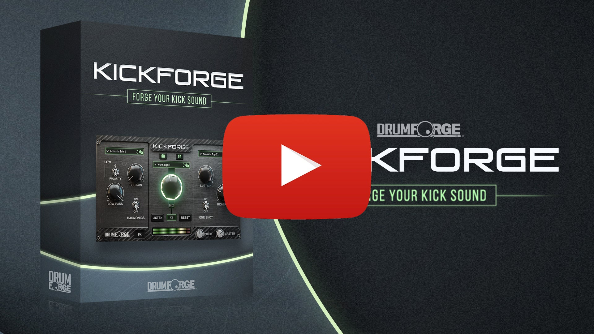 Getting the perfect kick drum for your mix has never been so easy.