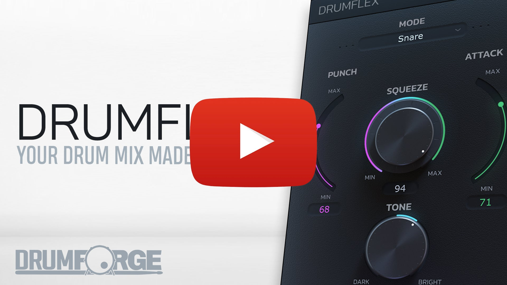 Your Drum Mix Made Flexible!
