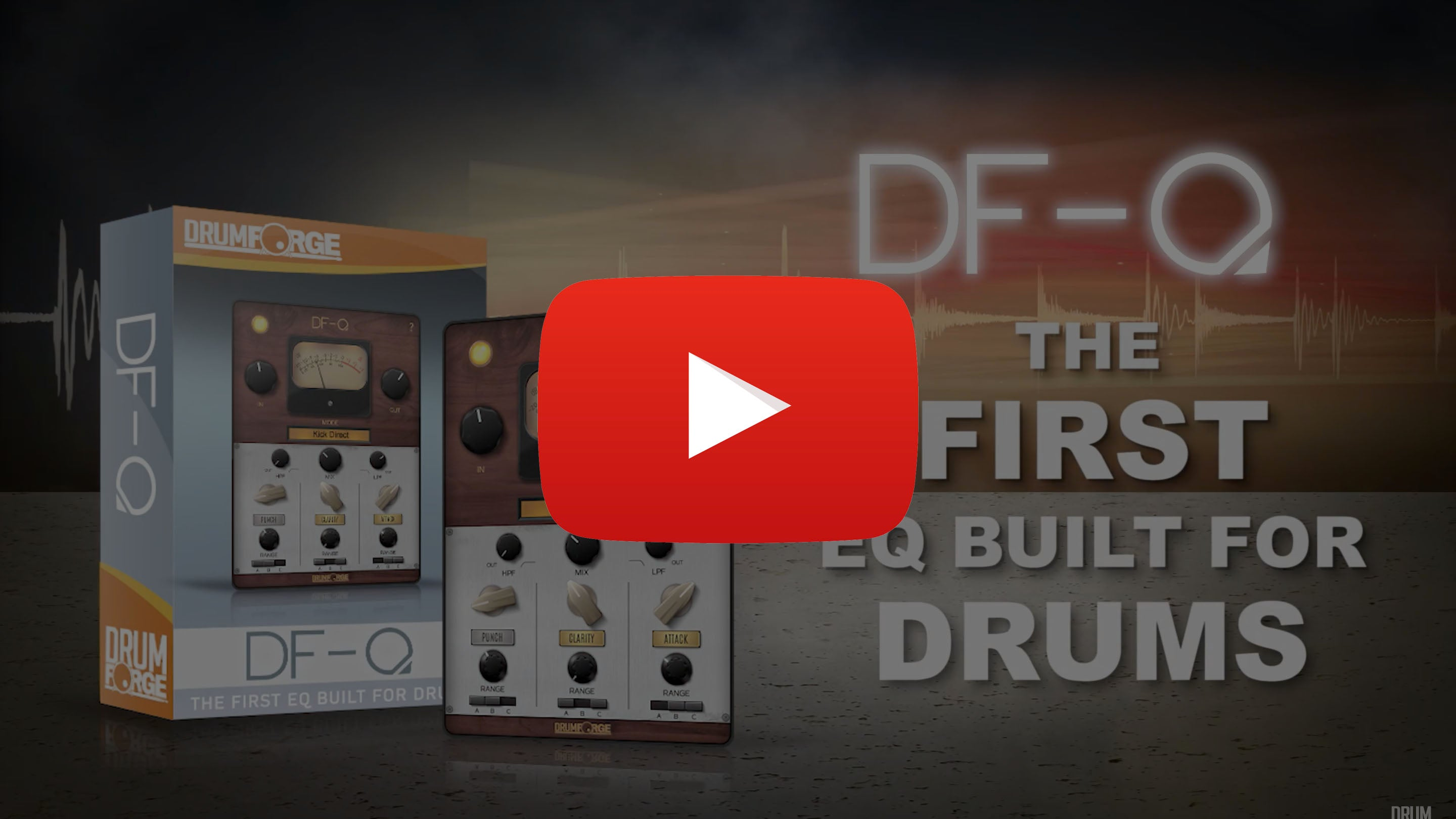 The FIRST EQ built for Drums.