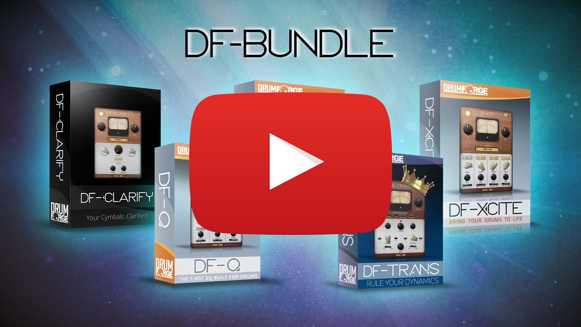 Drumforge DF-Bundle 1.0 Mac 破解版 鼓声混音插件包-麦氪派
