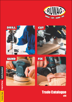 Ruwag Trade Catalogue