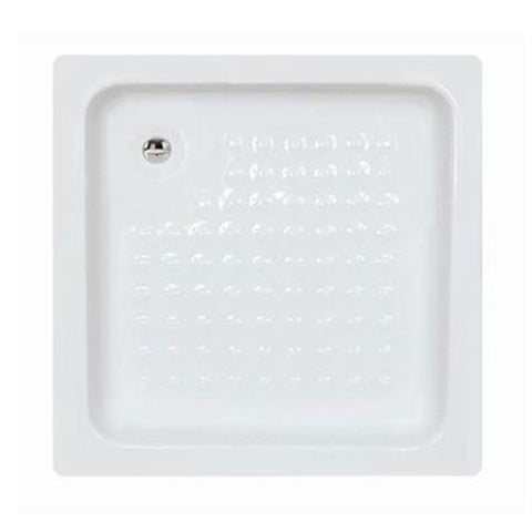 Libra Cola Shower Tray Non-Slip Floor 80x80cm