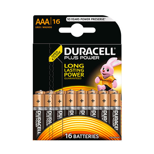 Duracell Plus Power AAA - 16pk