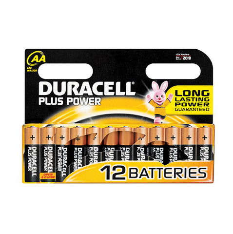 Duracell Plus Power AA - 12pk
