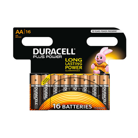Duracell Plus Power AA - 16pk